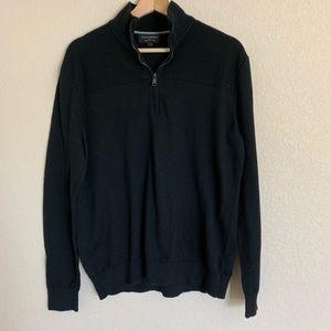 🛍Banana Republic Pullover 3/4 Zip Sweater- Lg
